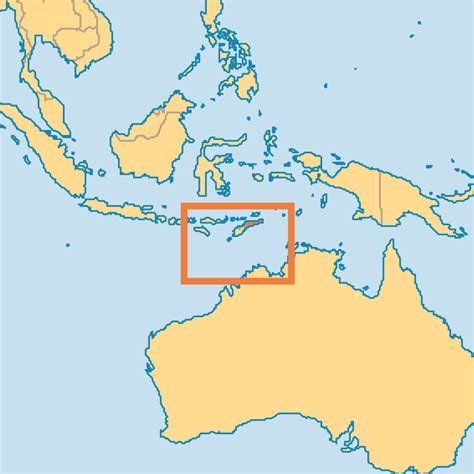 where is east timor on the map timor leste map adriftskateshop