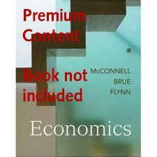 premium content card for economics 18e economics 18th edition author s mcconnell