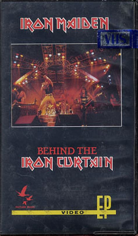 behind the iron curtain iron maiden behind the iron curtain video tapes rare