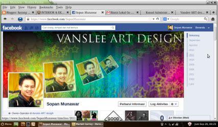 fb unik desain unik keren sul facebook anda vanslee art design