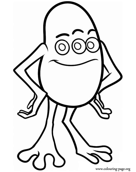 coloring page of monster pictures of monsters coloring home