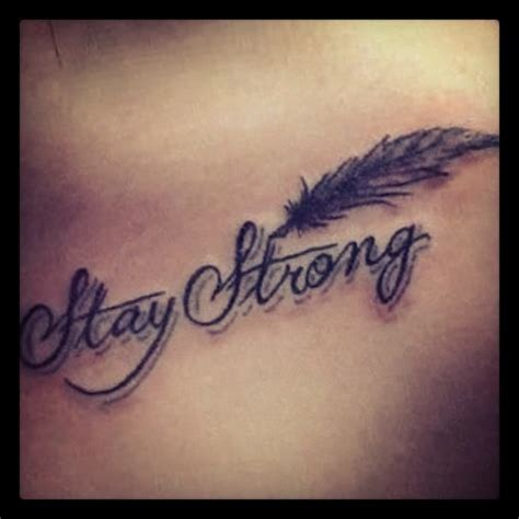 stay strong infinity tattoo stay strong by britnee monta 241 o we it
