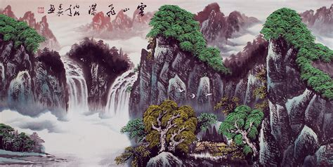 oriental mountain tattoo japanese mountian art google search artistic