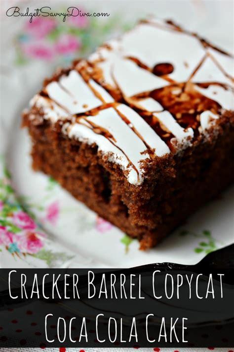cracker barrel chocolate coke cake recipe cracker barrel coca cola cake frosting recipe