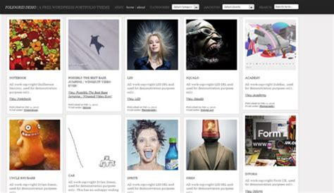 wordpress themes thumbnail gallery 100 free high quality wordpress themes 2010 edition