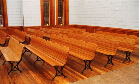 courtroom benches abt unk candlelight tour hood county courthouse