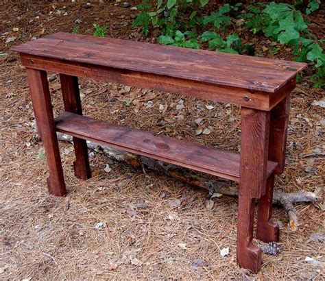 pallet entryway desk sofa table hall table pallet