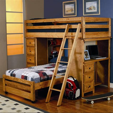 L Shaped Bunk Bed With Desk Awesome Wood L Shaped Bunk Bed With Desk And Ladder Charming Bunk Bed Dresser 3