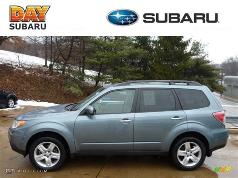 2010 Subaru Forester 2 5 X by 2010 Green Metallic Subaru Forester 2 5 X Limited