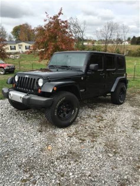 Jeep Wranglers For Sale In Kentucky 2009 Jeep Wrangler For Sale In Harrodsburg Ky