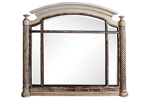 Mirrors Fireplace Mantels by Painted Mantel Mirror Omero Home