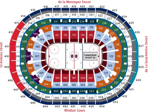 centre bell floor plan montreal canadiens tickets at tickets gohabs com