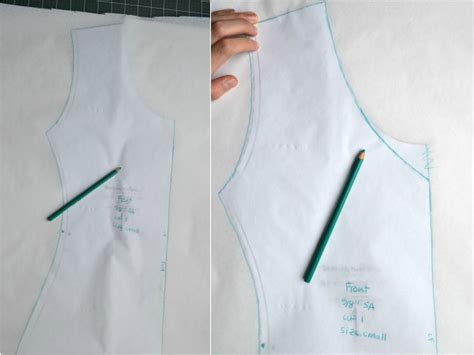 v neck shirt pattern how to turn any tee pattern into a v neck megan nielsen