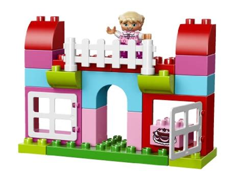 Lego 10571 Duplo All In One Pink Box Of lego duplo all in one pink box of 10571 educational for toddlers playset toys
