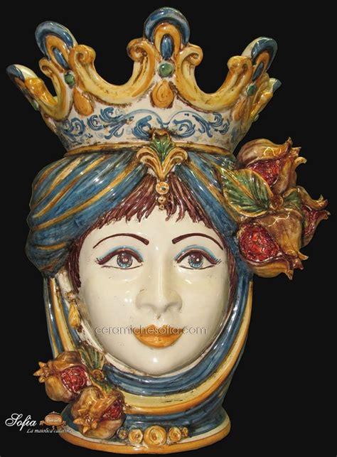 vasi di caltagirone 23 best images about ceramiche di caltagirone on