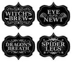 printable swear jar label printable halloween labels for bottles and potions harry