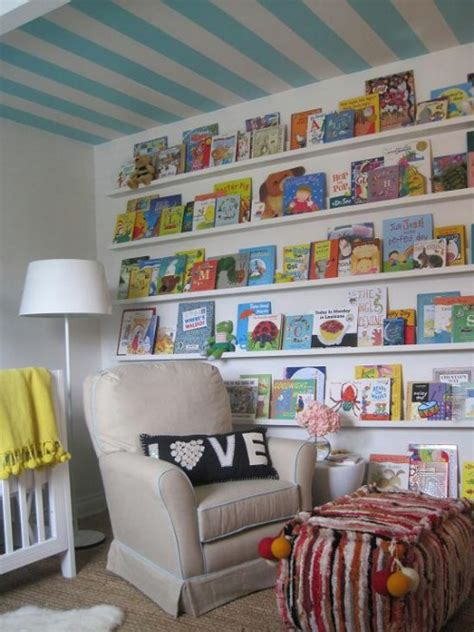 40 Brilliant Diy Shelves That Will Beautify Your Home Bookshelves For Nursery
