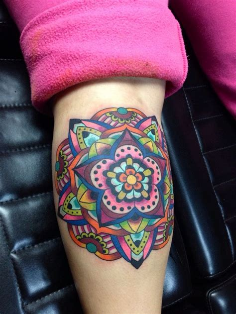 colored tattoo designs best 25 colorful mandala ideas on