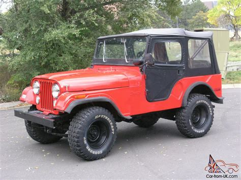 1972 Jeep Cj5 For Sale 1972 Jeep Cj5 Retired Dept Vehicle With 7 500