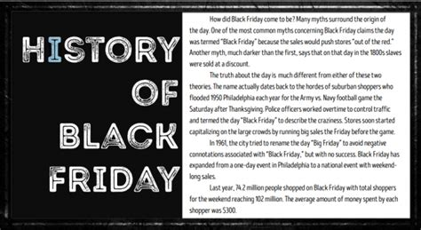history of black friday the collegian