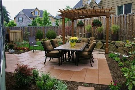 Ideas For Backyards Patio Ideas For A Small Yard Landscaping Gardening Ideas