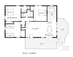 One Level Floor Plans by One Level House Plans Modern House