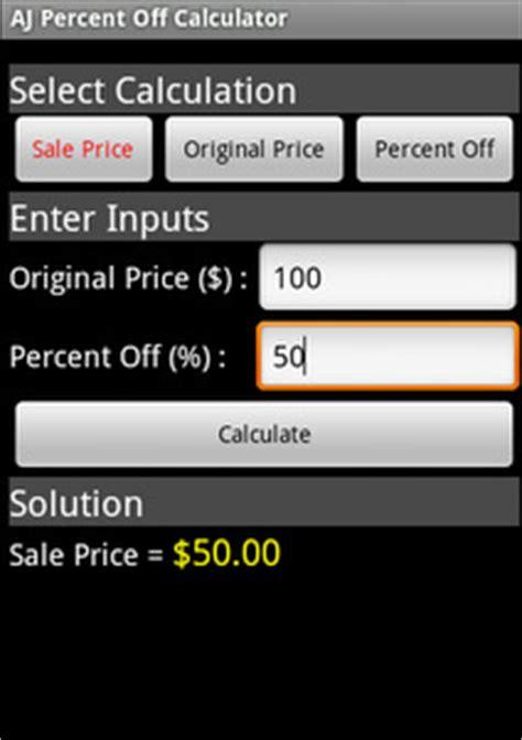 sale discount equations formulas calculator percent