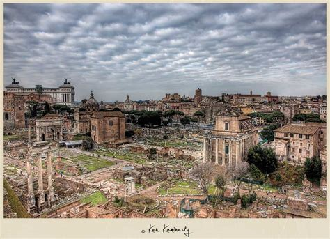 Great Blogs About Rome by The Ruins Of The Forum In Rome Italy