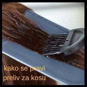 kako isprati farbu za kosu preliv za kosu posle blanša pramenova kako se pravi