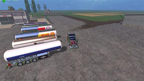 Gas Ls by Fuel Trailers V1 0 Ls 2015 Farming Simulator 2017 2015