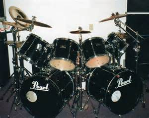 9 piece pearl export drum set photo picture image on use com