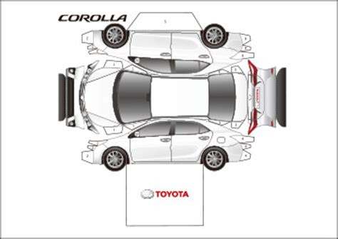 Toyota Papercraft - pin play free site printable coloringhello with