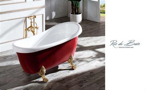 baignoire hors sol baignoire baroque trendy baignoire ilot dellen with