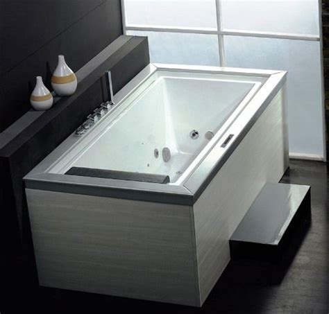 Jets For Bathtub by Wasauna Negative Edge Bathtub With Inline Heater 1 Person