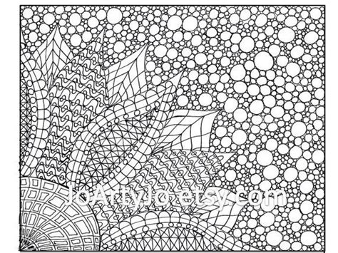 printable zentangle flowers coloring page print and color zentangle 174 inspired flower