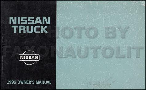 1996 Nissan Pickup Truck Repair Shop Manual Original