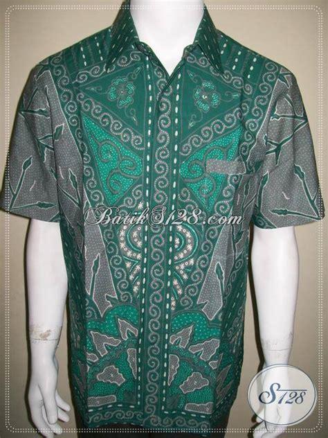 Batik Anma Nusantara Kemeja Hem Baju Batik Katun 4 kemeja batik terbaru batik unik warna hijau keren kualitas bagus ld390t l toko batik