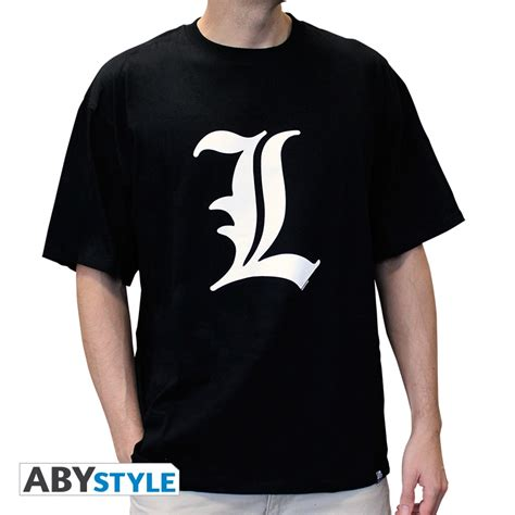 L A Tshirt note t shirt l tribute abystyle