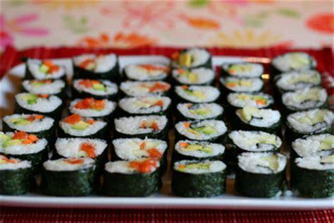 come fare il sushi a casa fare il sushi in casa mamma felice