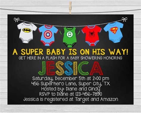 Superhero Baby Shower Invitation Superhero By Maopartyprintables Baby Shower 2016 Pinterest Superman Baby Shower Invitation Template