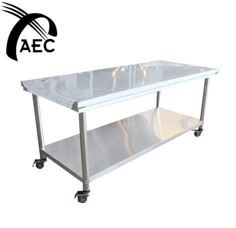 Meja Stainless table stainless steel 6 auto kinetics m sdn bhd