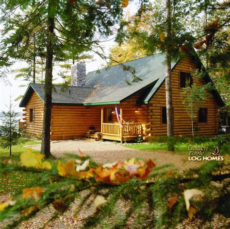 golden eagle log  timber homes log home cabin pictures  custom eagle prow iv al