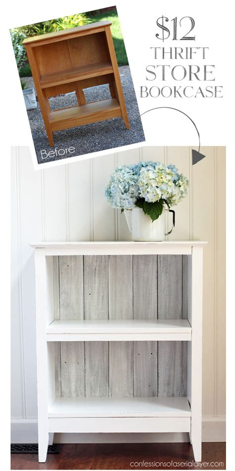 Reclaimed Wood Bookcase From Confessions Of A Serial Do It Cheap Diy Bookshelves