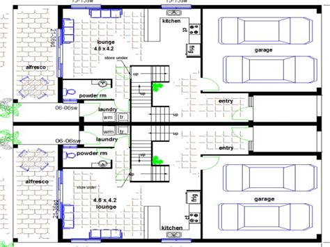 townhouse floor plans  garage townhouse floor plans