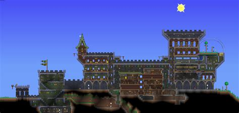 How To Build Island For Kitchen by Renovated Terraria Castle By Chronozon937 On Deviantart