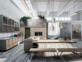 Industrial Kitchen Design Ideas Industrial Kitchen Designs Applied With Fashionable Decor Ideas Looks So Outstanding