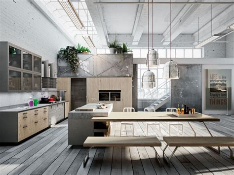 industrial style home 32 industrial style kitchens that will make you fall in love
