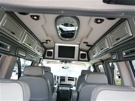 how make cars 2003 gmc savana 3500 interior lighting buy used 2003 gmc savana 5 3l v8 rwd sherrod conversion van leather tv bed l k in daytona beach