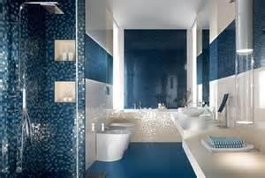 blue bathroom tiles ideas mattonelle bagno ceramica