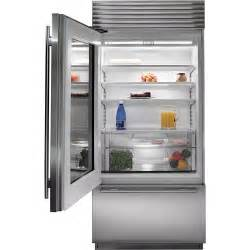 Sub Zero Refrigerator With Glass Door Subzero Bi 36ug O 36 Quot Built In Glass Door And Refrigerator Overlay Panel Ready